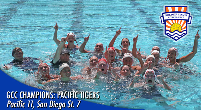 Pacific jumps to 5-1 lead and holds advantage the rest of the way to win GCC Championships. (Photo by: Donald Jedlovec)